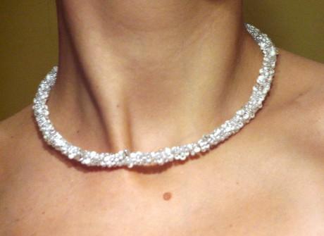 b505ce513 Radushi-jewellery - Fotoalbum - Náhrdelníky - Bílý gizmo náhrdelník